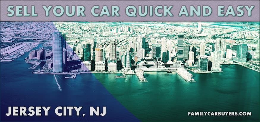 Jersey City Skyline - sell your car quick and easy