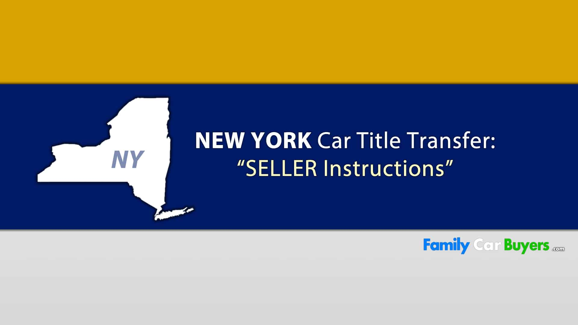Sell My Car New York – Title Transfer – Family Car Buyers